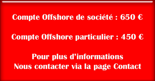 compte offshore